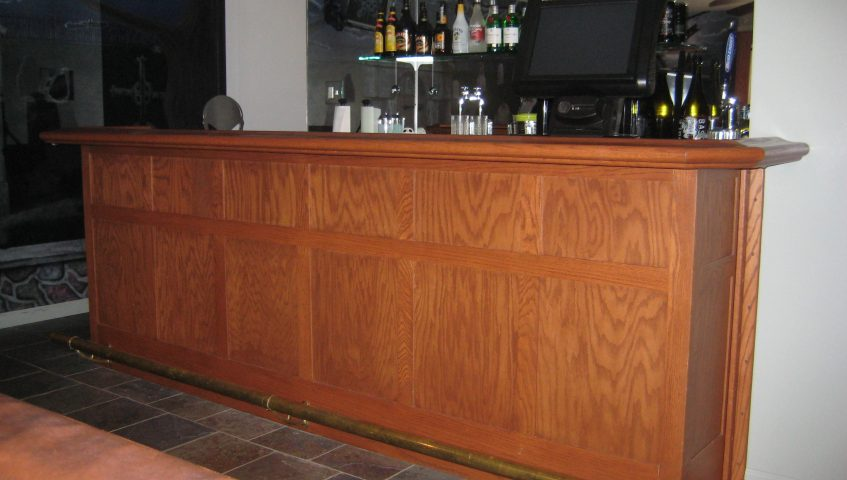 custom built bar in horsham, pa