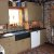 Custom Rustic Kitchen with painted wood in lansdale, pa