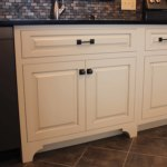 Custom kitchen with white painted caibinets in Schwenksville, pa