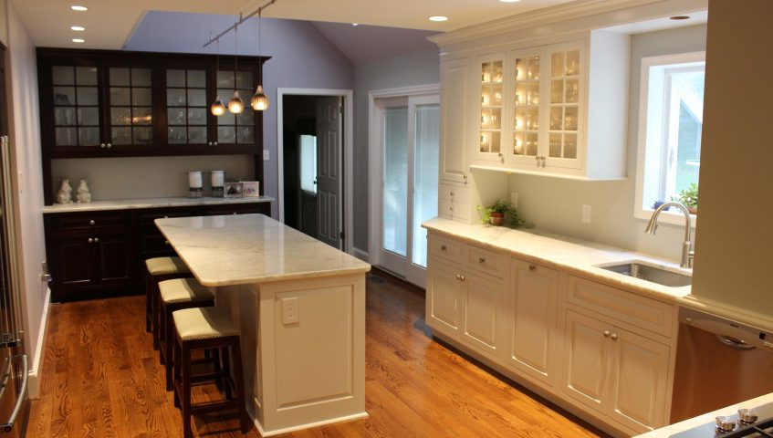 Custom painted kitchen cabinets hilltown pa